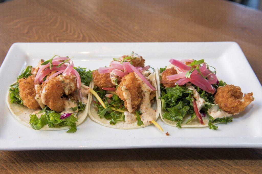 Camerones Tacos at La Cocina Mexican Grill & Bar