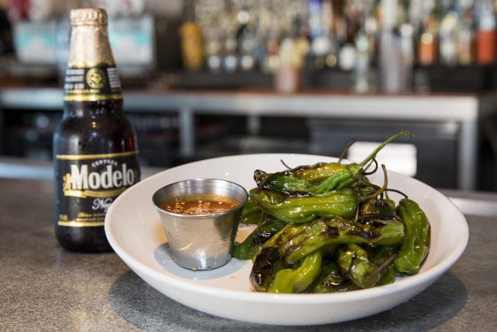 The Shishito Peppers at LA Cocina Mexican Grill & Bar in Seacrest Beach.
